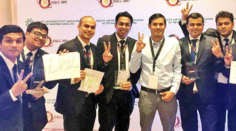 DBL Group wins 3 Gold Awards at the International Convention on Quality Control Circles (ICQCC) 2017