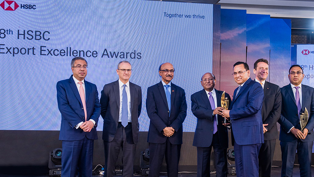 DBL wins HSBC Export Excellence Awards yet another time!