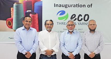 Inauguration of Eco Threads & Yarns