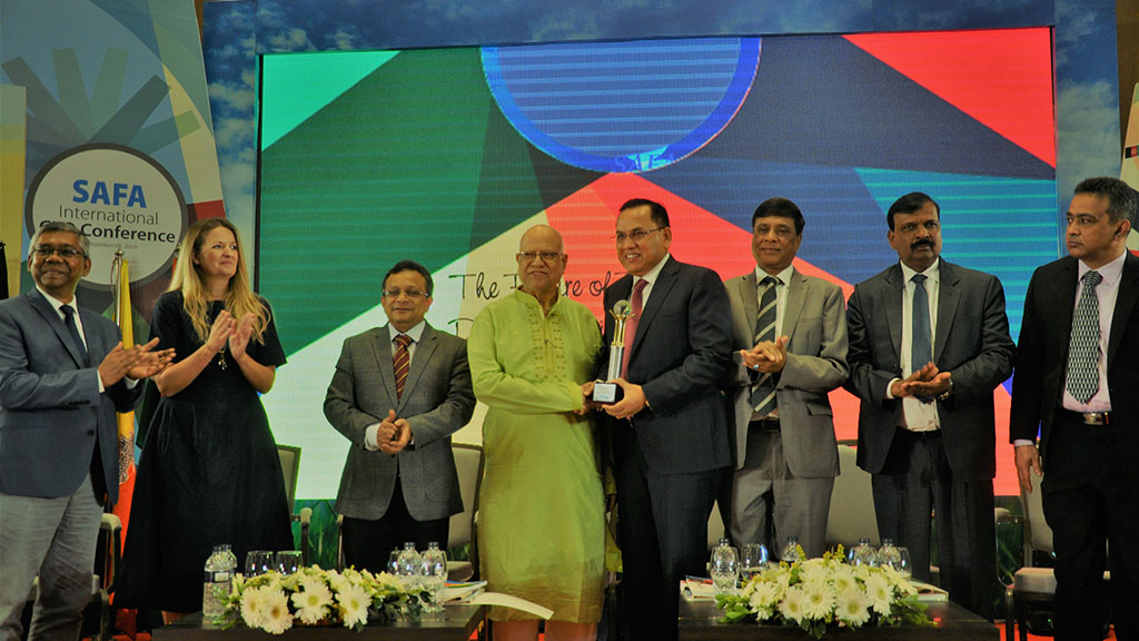 Matin Spinning Mills Limited (MSML), a concern of DBL Group wins ICMAB Best Corporate  Award- 2017