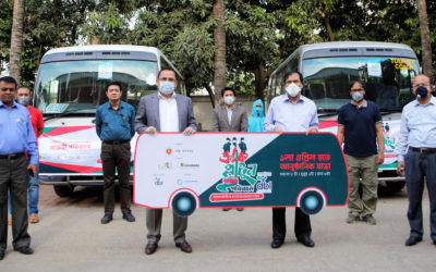 Crack Platoon Transport Service for front-line warriors of COVID-19 by DBL Pharma starts its journey