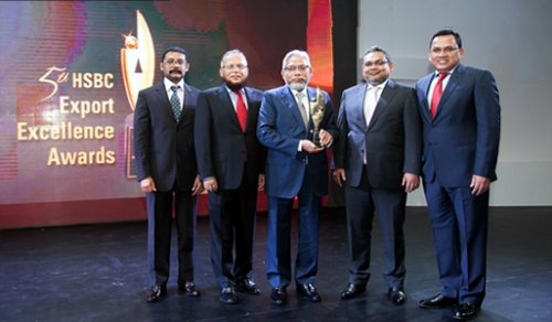 HSBC Export Excellence Award, 2014