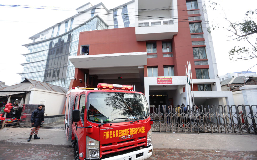 Mini Fire Station: A Rapid Response Unit for the Textile and RMG Industry of Bangladesh